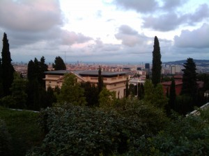 Vistas de Barcelona des del IESE